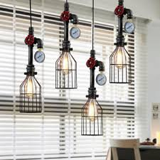 loft industrial iron cage. Image Is Loading Industrial-Iron-Cage-Wire-Pipe-Pendant-Lamp-Vintage- Loft Industrial Iron Cage E