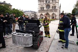 Colossus', a 1,100-pound robot helped extinguish Notre Dame fire in ...