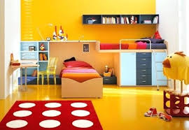 kids bedroom with tv. Kids Bedroom Paint Colors Ideas For Boy Or Girl Bedrooms A Yellow Color Home Office With Tv