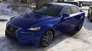 lexus is 250 2014 blue.  2014 Lexus Certified Pre Owned Blue 2014 IS 250 AWD  Premium F Sport Pckg  Review Spruce Grove AB YouTube To Is E