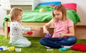 Image result for Play with slime for kids