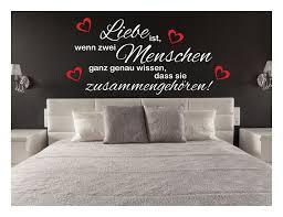 Wandtattoo Liebe Wohnzimmer Sprüche Herz Schlafzimmer Wandsticker