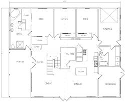 barn home floor plans. Exellent Home Uncle Howardu0027s Barn Kits  Western Classic Sample Interior 36x48 Floor  Plan Inside Home Plans