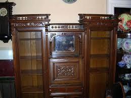 antique secretary desk with bookcase fabulous antique double secretary desk side by side oak desk antique