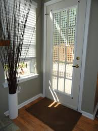 the back door after