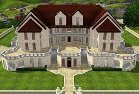 mansion floor plans sims 4 sims 3 small house ideas