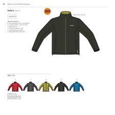 Crossland Soft Shell Jacket Size Chart 18 Mens X Ert Performa