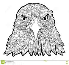 Image Result For Printable Adult Eagle Front View Coloring Pages