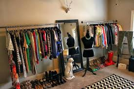 turn a room into closet incredible make your look like chic boutique