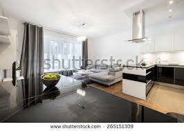 modern family room furniture. overview of a modern family room in private residence with the open kitchen furniture t