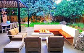 Modern Backyard Design Property Awesome Design Inspiration