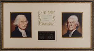 Image result for Both George Washington and Thomas Jefferson