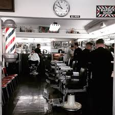vinny s barber shop how to grow a moustache here s my instagram picture that inspired this photo essay the clock on top indicates that it s minutes before opening as the barbers prepare their