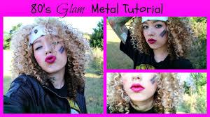 80 s glam metal tutorial