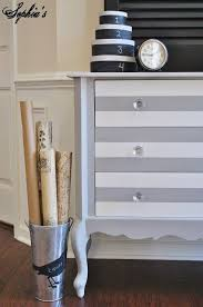 grey and white furniture. stripped dresser finished with paris grey u0026 pure white chalk paint decorative by annie and furniture