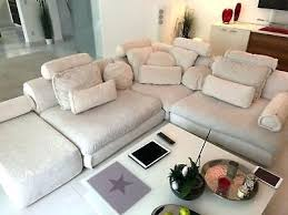 beige couch sectional decor cover grey rug