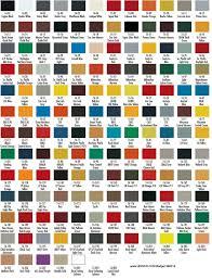 Airfix Model Paint Colour Chart 14 Specific Hombrol Enamel Paint Chart