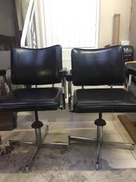 retro office chairs. Two Retro Office Chairs