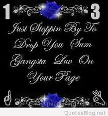 Gangsta Love Quotes Adorable Best Gangster Love Quotes