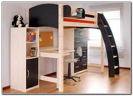 44 Cool And Insanely Fun Kids Loft Beds Ideas Throughout Bunk Bed With Desk  For Adults Renovation ...