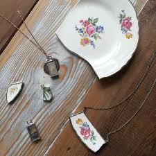 soldered glass pendant