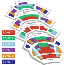 Kansas City Ballet Seating Charts Kc Ballet Kauffman Center