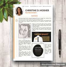 Portfolio Word Template Resume Template 24 Pages CV Template Cover Letter And Portfolio 8