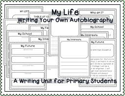 best writing images teaching ideas teaching writing your own autobiography