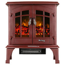 jasper free standing electric fireplace stove by e flame usa red com