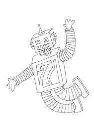 Kleurplaat Robots 4747 Kleurplaten