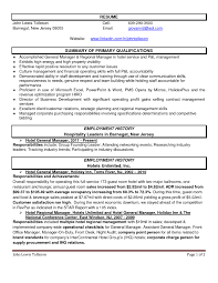 Brilliant Ideas Of Hotel General Manager Resume Samples In Sample