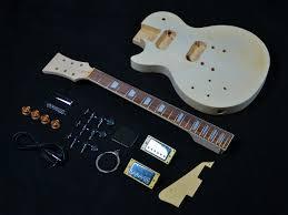 les paul style lefty guitar kit