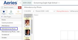 Class 1 A Seating Chart Attendance By Photo And Seating Chart Aeries Software