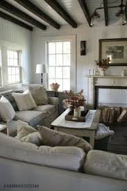 It is officially Autumn and the leaves have really started to fall here  this past week  Farmhouse LivingroomsFarmhouse Living Room ...
