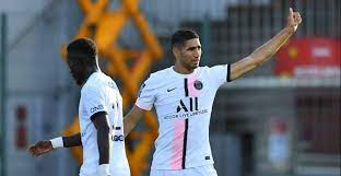 Hakimi Nets First PSG Goal
