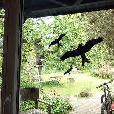 Vogel Aufkleber Für Fenster Wintergarten 6 Stk Warnvögel