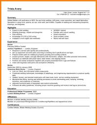 11 Resume For Welding Letter Setup