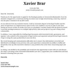 Paralegal Cover Letter Samples Paralegal Cover Letter Examples Samples Templates