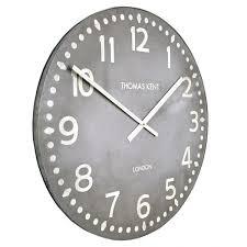 gray wall clock grey wall clock roman numerals