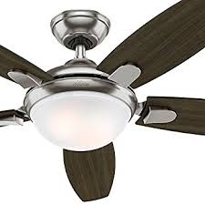 hunter contempo 52 in indoor brushed nickel ceiling fan beautiful canada for 17