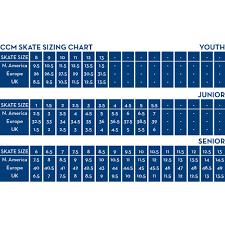 Reebok Hockey Skates Size Chart Reebok Maxx Jr