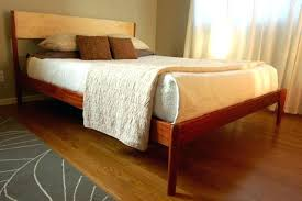 mid century modern bed frame diy beds for king