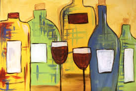 painting by beth bizianes with pinot s palette