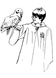 Small Picture Printable Harry Potter Coloring Pages Coloring Me