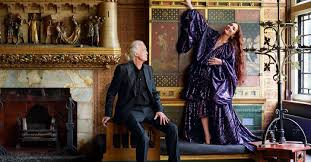Jimmy Page Scarlett Sabet interview London house <b>Rolling Stones</b> ...