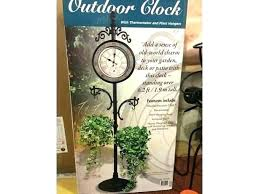 plant hangers brackets outdoor plant hangers outdoor plant hangers outdoor clock with thermometer and 2 plant