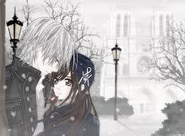cute anime couple background hd