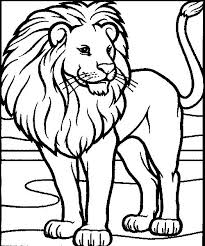 Small Picture Free Printable Lion Coloring Pages For Kids Lion Coloring Pages In