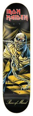 <b>IRON MAIDEN</b> - <b>PIECE</b> OF MIND – Zero Skateboards