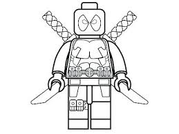 Lego Marvel Characters Coloring Pages Marvel Superheroes Coloring